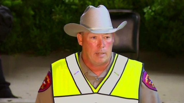 Dean Wilson from the Texas Public Safety Department