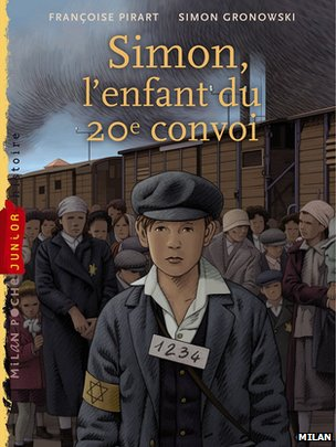 Cover of Simon, L'enfant du 20e Convoi