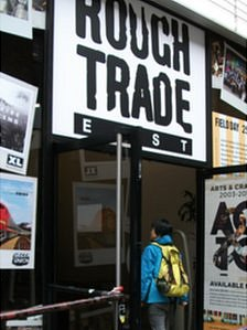 Exterior of Rough Trade East
