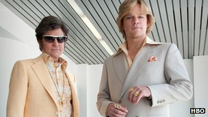 Promotion image from Behind the Candelabra