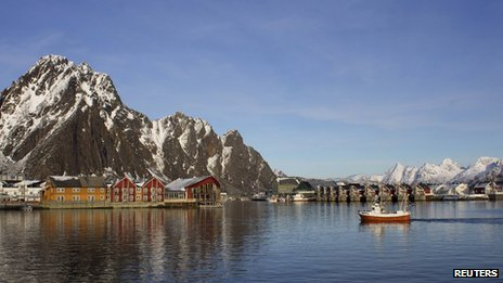 Svolvaer, Lofoten Islands, Norway - file pic