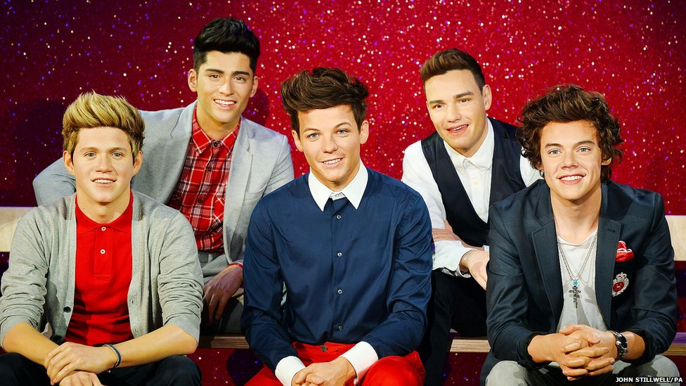 One Direction waxworks revealed at Madame Tussauds