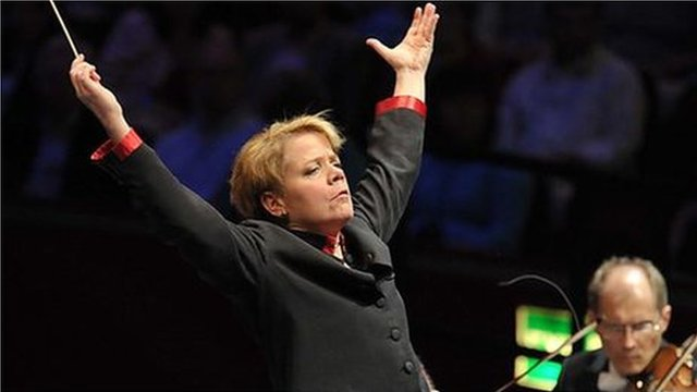 Marin Alsop conducts the Sao Paulo Symphony Orchestra