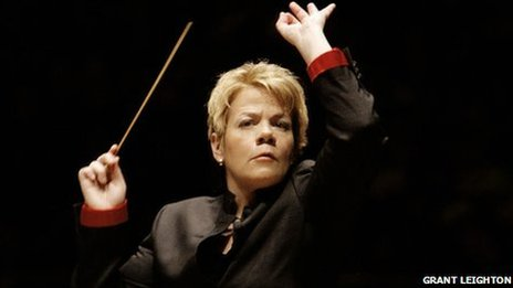 ariel last night of the proms gets its first female conductor