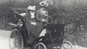 Vita Sackville-West and her mother