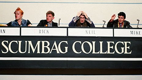 Young Ones parody of University Challenge, 1984