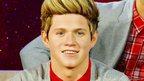 Niall Horan waxwork.