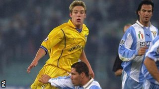 Alan Smith in action for Leeds