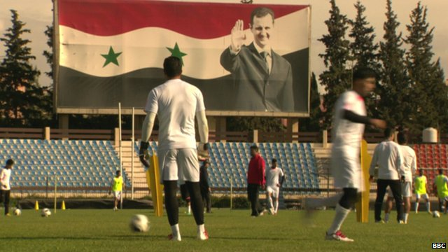 Football in Damascus, Syria