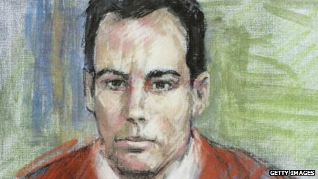Court sketch of Eric Rudolph