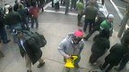 Suspects in the Boston Marathon bombing caught on CCTV