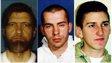 Ted Kaczynski, David Copeland, Timothy McVeigh