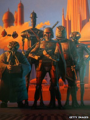 Ralph McQuarrie art work