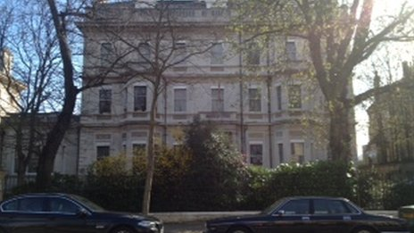 Nepalese embassy in London