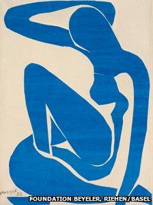 Blue Nude (I) 1952, Henri Matisse