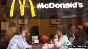 McDonald's restaurant in Chicago