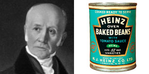 Bryan Donkin, Heinz beans