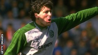 Former Celtic keeper Pat Bonner
