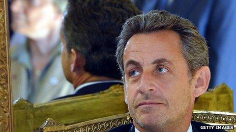 Nicolas Sarkozy on 27 March 2013