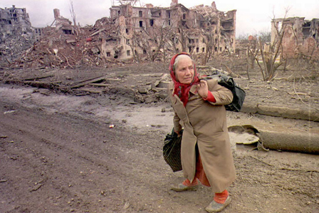 Ruins of Grozny