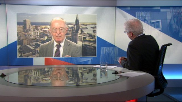 Douglas Fraser talks to oil industry expert Prof Alex Kemp