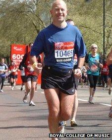 Mark on the run