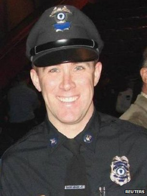 Police officer Richard Donohue Jr
