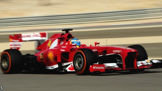 Alonso top in Bahrain final practice