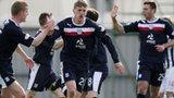 Dundee goalscorer Jim McAlister