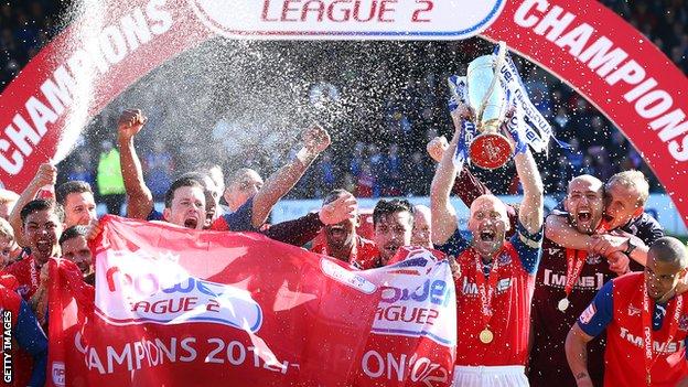 Gillingham lift League Two title