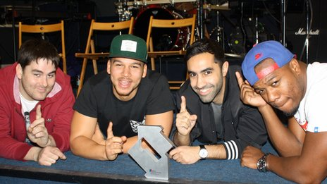 Rudimental with their number one award