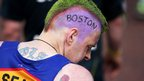 Man with Boston mohawk