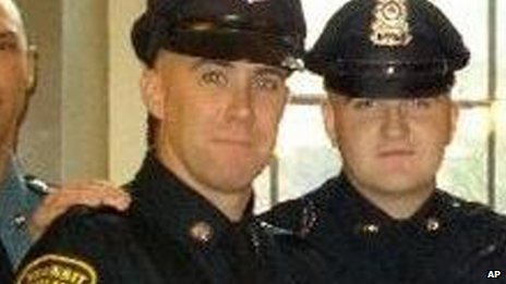 Richard Donohue Jr (left) and Sean Collier (2010)
