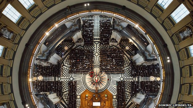Baroness Thatcher's funeral in St Paul's