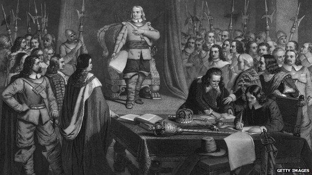 The English Revolution?