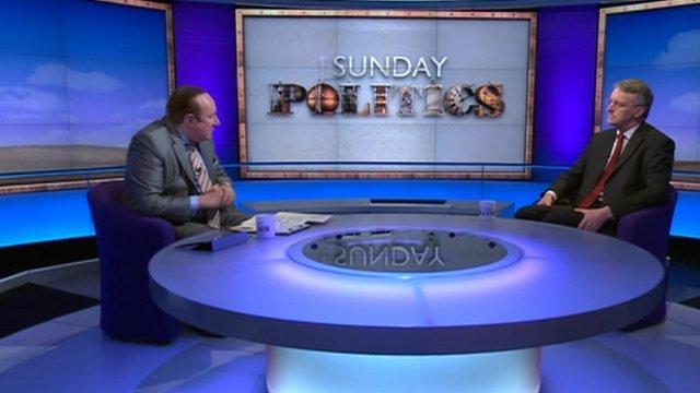Andrew Neil and Hilary Benn