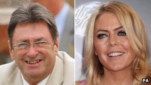 Alan Titchmarsh and Patsy Kensit