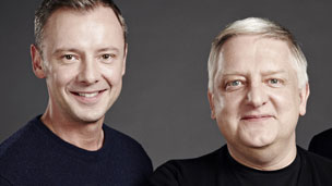 John Simm and Simon Russell Beale