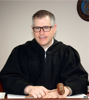 District judge Raymond Voet