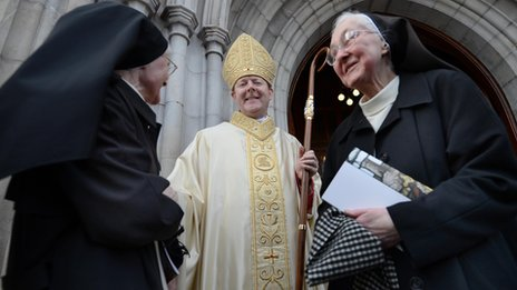 Monsignor Martin will succeed current Archbishop Cardinal Brady when he retires
