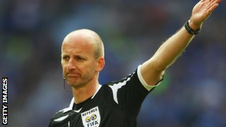 Former Premier League referee Mike Riley