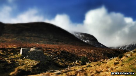 The Mourne Mountains - by Peter Donnelly