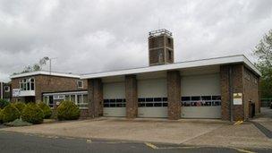 Windsor fire station St Mark's Road