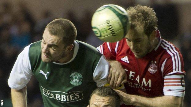 Hibs 0-0 Aberdeen