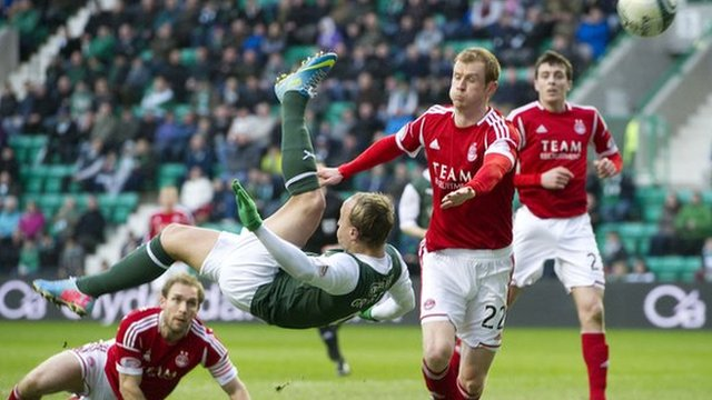 Highlights - Hibernian 0-0 Aberdeen