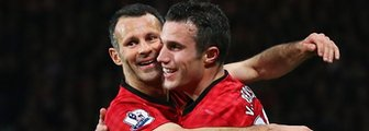 Ryan Giggs (left) and Robin van Persie