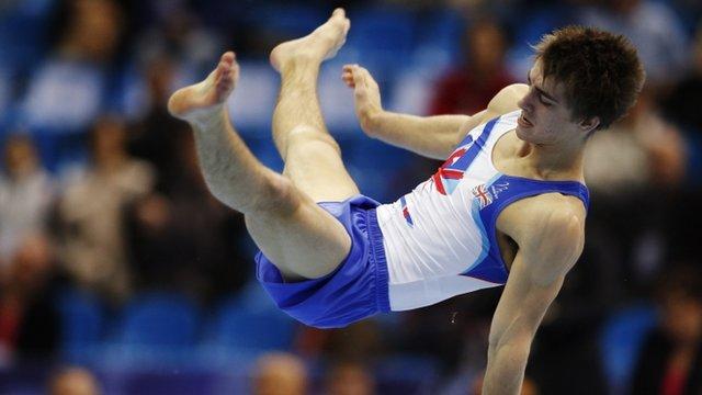 GB gymnast Max Whitlock