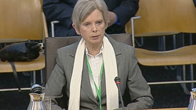Leveson Inquiry witness Margaret Watson