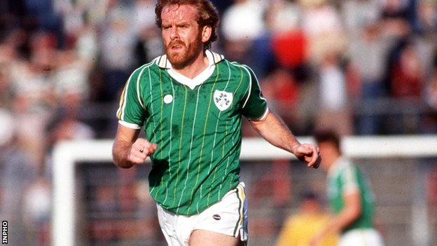 Former Republic of Ireland midfielder Tony Grealish