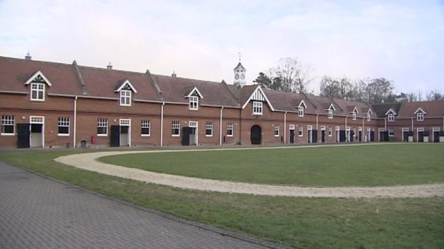 Goldolphin training centre